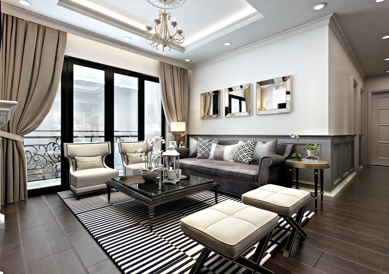 Phòng khách dự án sunshine riverside